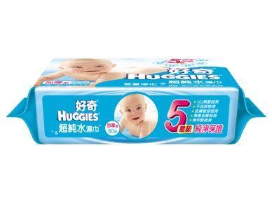 好奇 純水嬰兒濕巾 加厚型 80抽*18包 一箱