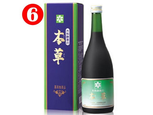 買5送1優惠組 大和酵素 本草酵素 720ML/瓶◆德瑞健康家◆