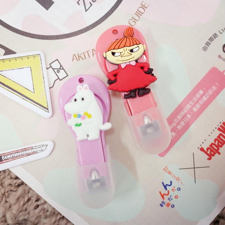 PGS7 日本卡通系列商品 - 嚕嚕米 Moomins 系列 指甲剪 修指甲 指甲 剪刀 小不點【SFE7081】