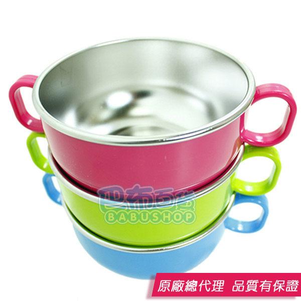 【巴布百貨】美國 Innobaby Din Din SMART 不銹鋼雙握把餐碗