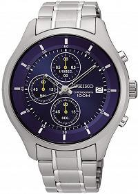 【錶飾精品】SEIKO手錶 精工錶 SKS537P1 深藍 日期 三眼計時 鋼帶男表 全新原廠正品 生日情人禮物