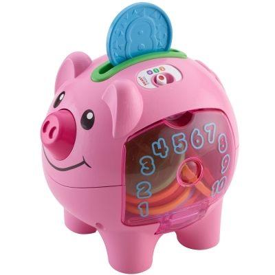 『121婦嬰用品館』費雪 智慧學習小豬撲滿