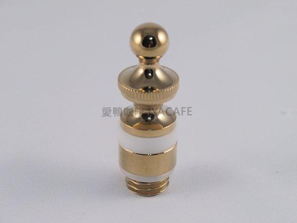 《愛鴨咖啡》比利時咖啡壺 零件 水箱蓋-金色