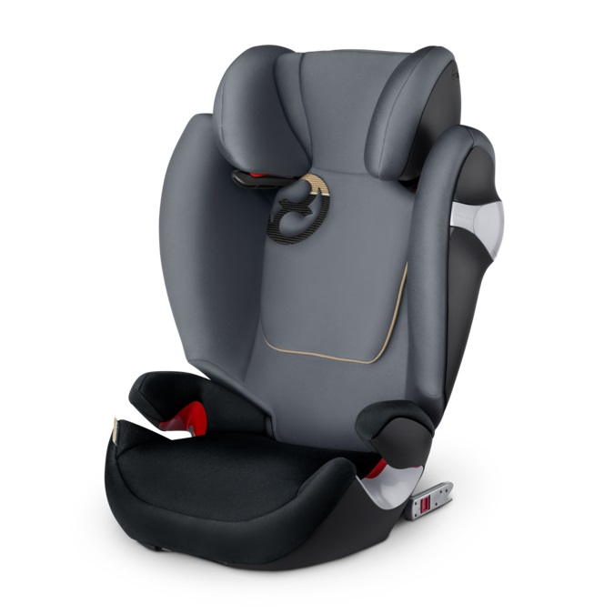 德國【Cybex】Solution M-FIX 汽車安全座椅 (3~12歲) -深灰色(預計4月中到貨)