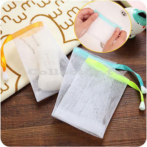 【F16081003】沐浴乳快速起泡網 潔面洗臉沐浴 肥皂起泡網 可掛式香皂起泡袋