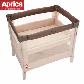 *babygo*愛普力卡 Aprica -可安睡‧可折疊‧可攜帶式嬰兒床COCONEL任意床【拿鐵棕】