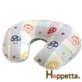 *babygo*日本Hoppetta蘑菇多用途授乳枕