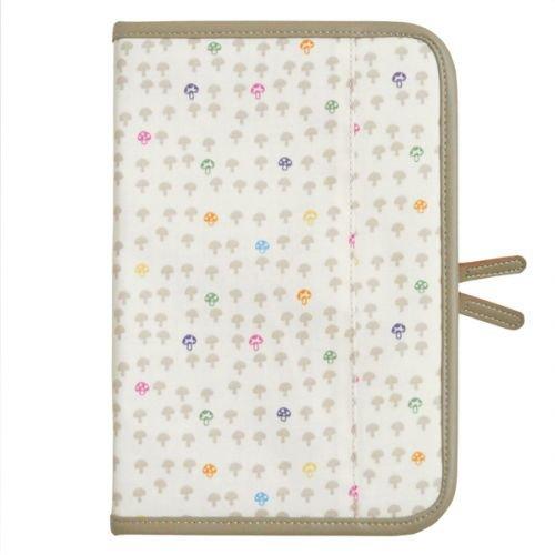 *babygo*日本Hoppetta蘑菇母子手冊包【白】