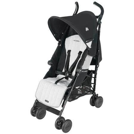 *babygo*Maclaren瑪格羅蘭Quest Sport 摩登時尚嬰兒手推車【銀白色】