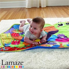 *babygo*Lamaze拉梅茲嬰幼兒玩具-小蝸牛遊戲墊LC27139