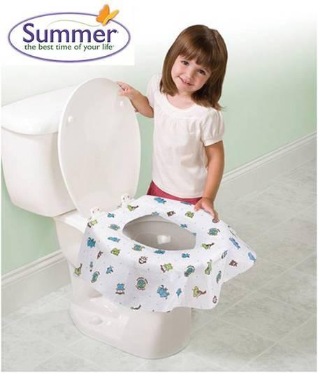 *babygo*Summer Infant 環保拋棄式馬桶座墊【20入】