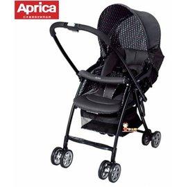 *babygo*愛普力卡Aprica-Karoon 629輕量雙向平躺型嬰幼兒手推車【高雅黑】