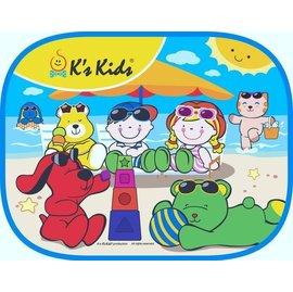 *babygo*奇智奇思 K's Kids -可愛汽車側窗遮陽板