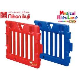 *babygo*日本nihon ikuji兒童音樂遊戲欄-經典彩虹屋專用延長片【紅+藍】