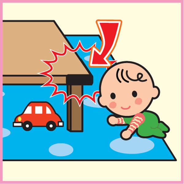 *babygo*日本CAR-BOY尖角防護貼條(土黃色)