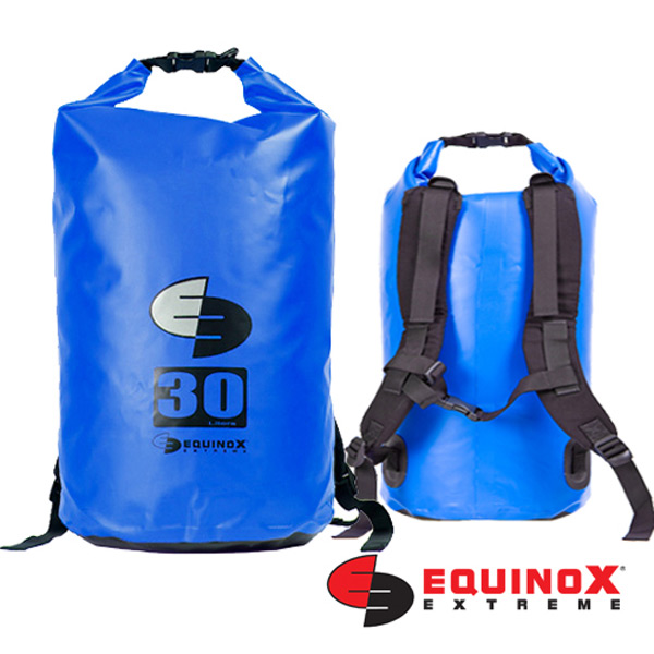 【鄉野情戶外用品店】 EQUINOX |美國| 雙肩防水袋背包/防水包 溯溪包 泛舟-藍/131125 【容量30L】