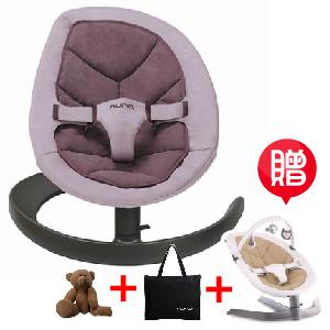 【贈專用玩具條+收納袋+玩偶(隨機)】荷蘭【Nuna】Leaf Curv搖搖椅(紫色)
