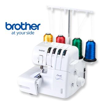 【日本brother】2104D 萬用型拷克機