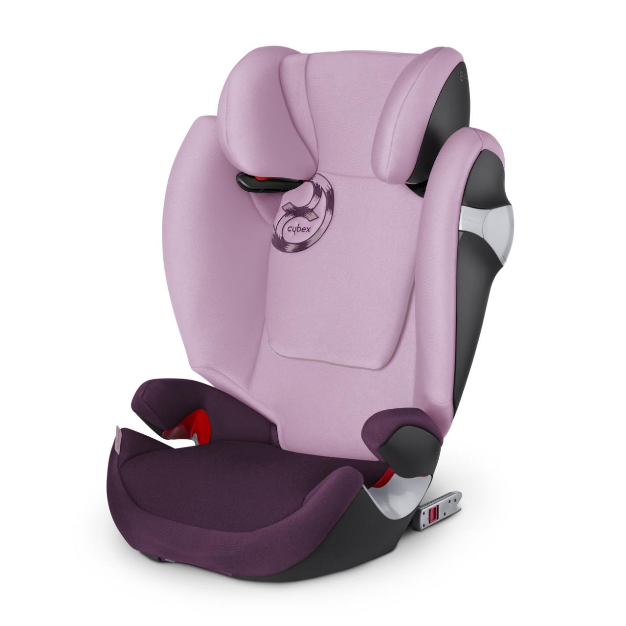 *babygo*德國Cybex--SOLUTION M-FIX 2016汽車安全座椅(3~12歲)/紫色 {限量!加贈企鵝水杯240ml}