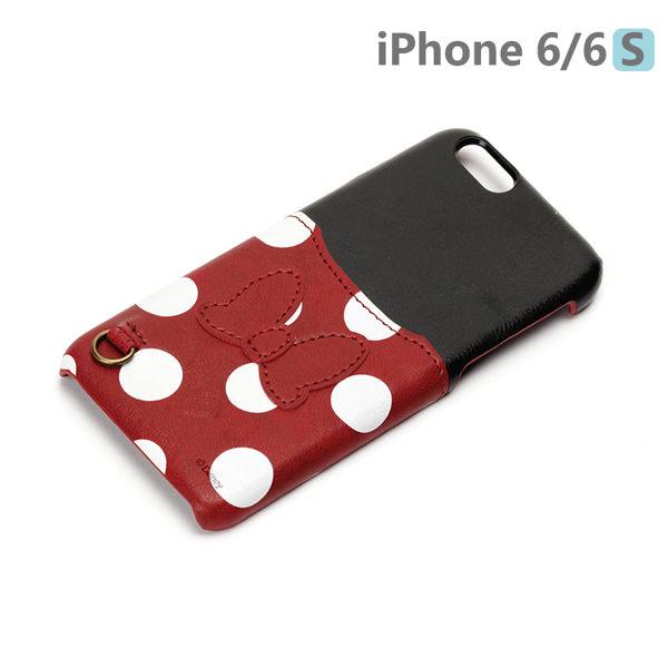 【日本 PGA-iJacket】UNISTYLE Disney 授權商品 iPhone 6/6s 專用手機殼 - Minnie 米妮