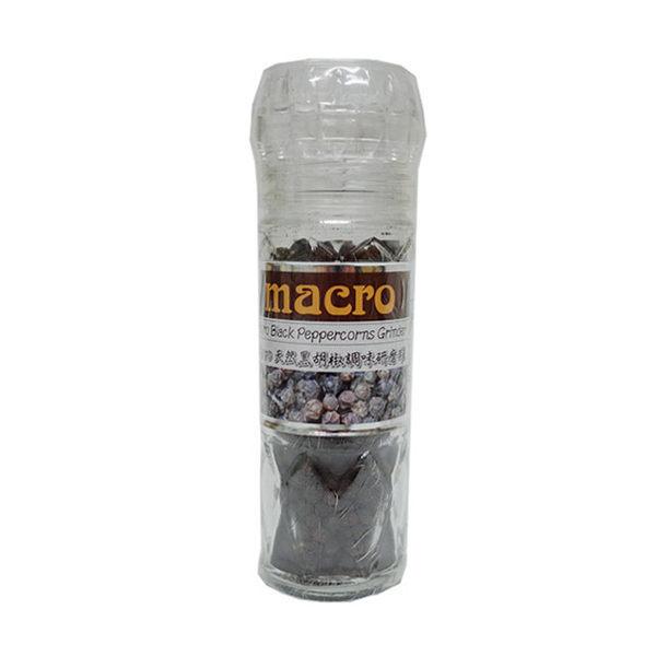 Macro 天然黑胡椒研磨罐 50g/瓶
