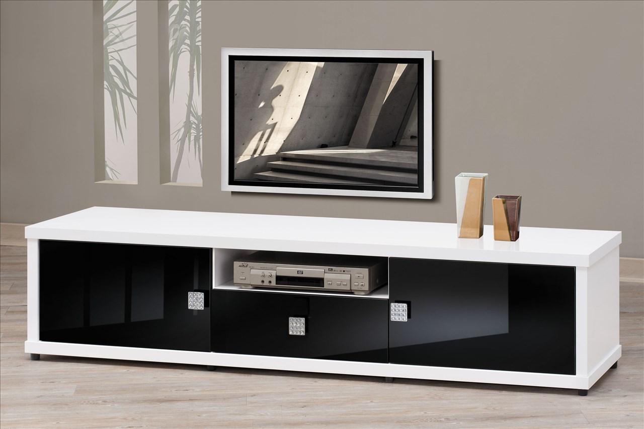 【石川家居】EF-217-3 米蘭白色6尺長櫃 電視櫃 (不含其他商品) 需搭配車趟
