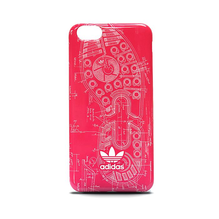 【adidas Originals】4.7吋 iPhone 6/6S 設計圖 軟質保護殼/背蓋/手機套/保護套/手機殼