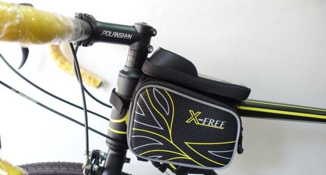 《意生》防水X-FREE 009遮光上管馬鞍包 腳踏車上管包 小馬鞍手機袋手機座自行車包手機包置物袋馬鞍袋