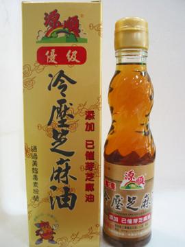 源順~優級冷壓芝麻油220ml/罐(添加已催芽芝麻油) ~特惠中~