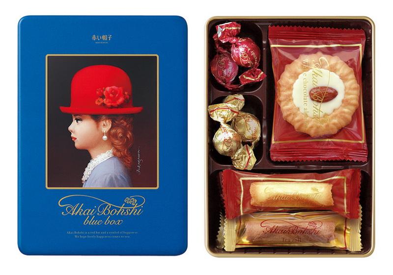 有樂町進口食品 Tivolina高帽子 藍帽禮盒 J70 4975186142003