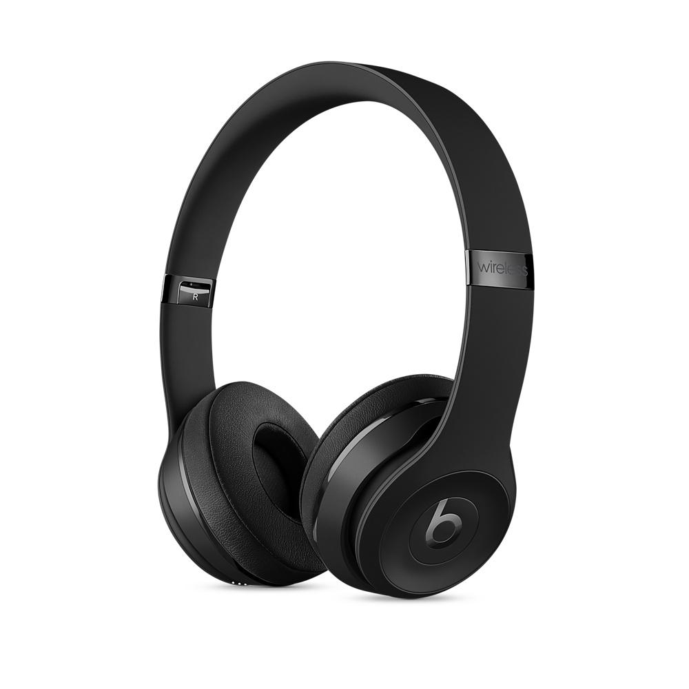 先創公司貨/APPLE公司保固1年『 Beats Solo 3 Wireless 霧黑 』耳罩式無線藍牙耳機/藍芽/另售studio