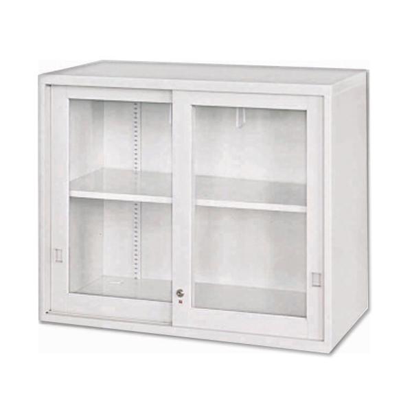 玻璃加框拉門上置式公文櫃 90 x 45 x 74 公分 2013-B-104-2
