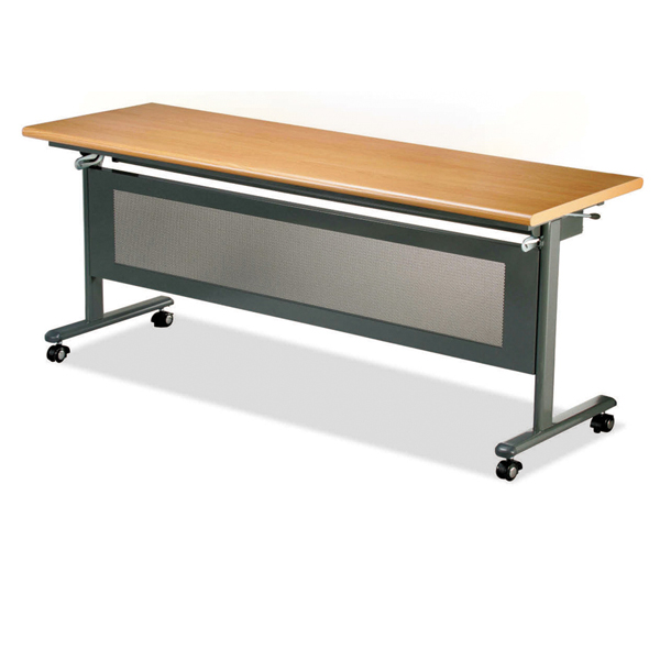 二代可掀式會議桌( 標準型 / 含置物架 ) 120 x 45 x 74公分 2013-B-64-1