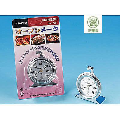 花蝶 JD-I-136 進大 烤箱、烤爐、掛爐專用溫度計(吊掛式) / 個