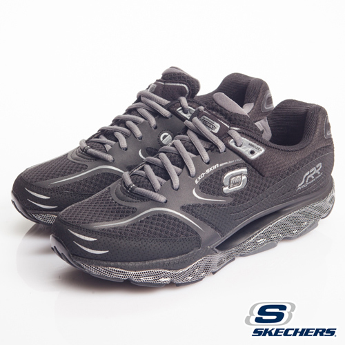 SKECHERS 超彈力慢跑鞋 - 訓練專用第五代SRR-999645BBK 男款 PRO RESISTSNCE