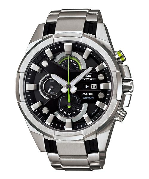 CASIO EDIFICE EFR-540D-1A 3D賽車時尚流行腕錶/黑面48mm