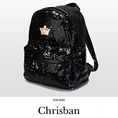 LINAGI里奈子精品【K659-43-78】酷炫亮麗前大拉鍊袋側邊袋可放A4流行亮片後背包