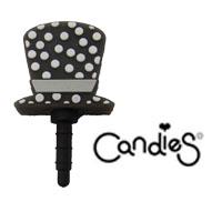 【Candies】高帽黑-耳機塞
