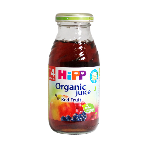 HiPP喜寶有 機綜合紅寶多果汁-單罐