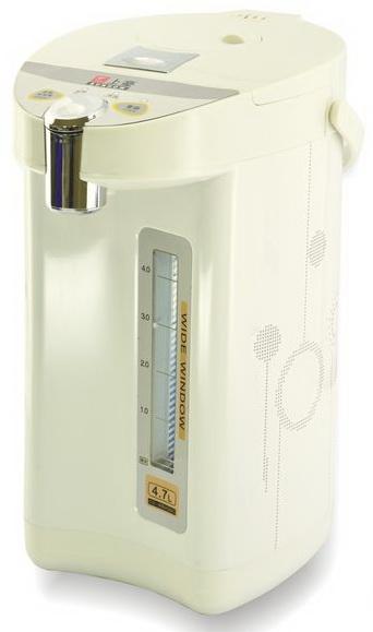 ?皇宮電器?上豪4.7公升 電動+碰杯電熱水瓶 PT-5010/PT5010 #304不鏽鋼內膽 防乾燒