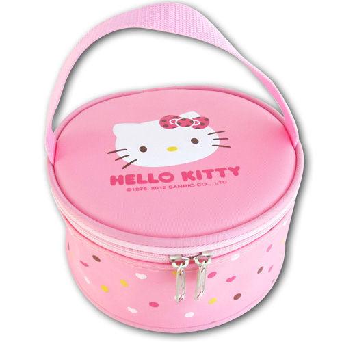 《省您錢購物網》 全新~Hello Kitty不鏽鋼便當盒 (KS-8145)+贈太陽能計算機*1