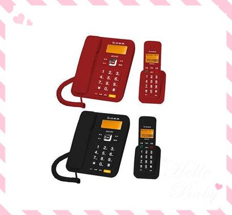 《省您錢購物網》 全新~倍適BASS 2.4G數位無線子母電話 (BDG-002)+贈VICTOR精品計算機(CA-04)*1