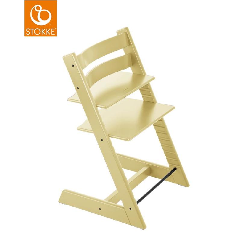 【限量3台】挪威【Stokke】Tripp Trapp 成長椅(麥黃)