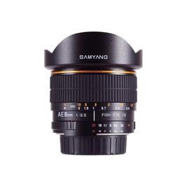 Samyang鏡頭專賣店:8mm/F3.5 Fisheye AE for Nikon AIS(魚眼 D80 D901 D600 D700 D800 D3 D4)