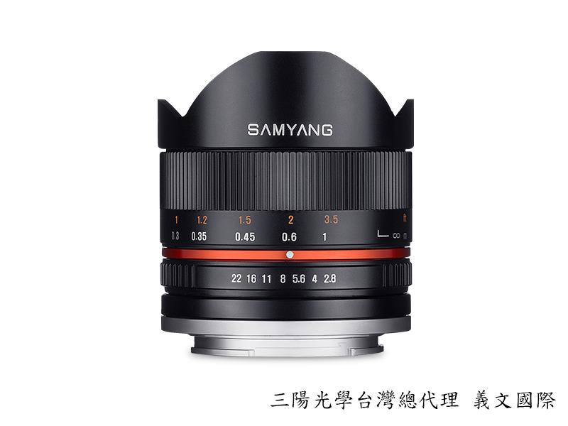 Samyang 鏡頭專賣店:8mm/F2.8 Fisheye ASPH for Sony E CSII 黑色 (魚眼 Nex 5 ,Nex 6,Nex 7, FS100,FS700,A7,A7R)