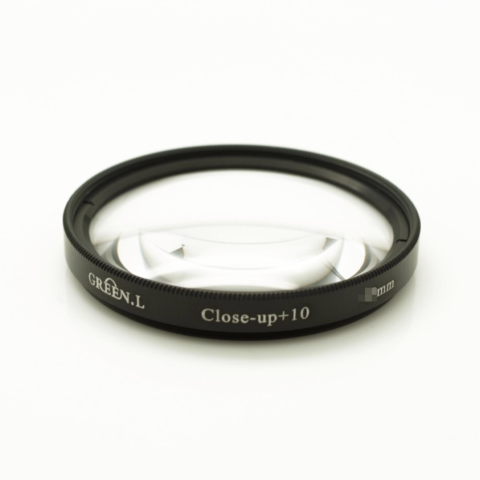 又敗家@ Green.L 67mm近攝鏡片放大鏡(close-up+10)Micro Macro鏡微距鏡,可代倒接環接寫環雙陽環百微轉接環適近拍生態攝影,非華光1.05-1.52x