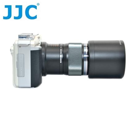 又敗家@JJC副廠Olympus遮光罩LH-49遮光罩(不用倒扣即可直接收納,同原廠Olympus遮光罩LH49遮光罩)適MZD 60mm F2.8 Macro F/2.8 1:2.8 ED M.ZU..