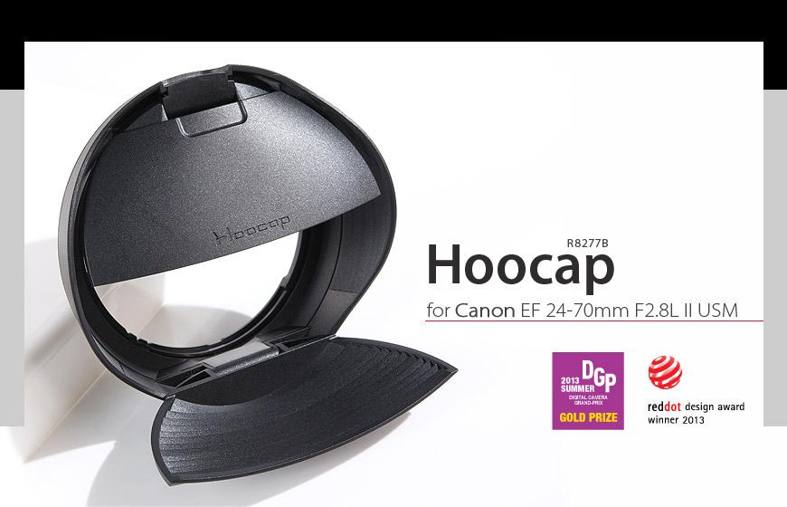 又敗家@台灣品牌HOOCAP遮光罩鏡頭蓋R8277C(相容ET-87遮光罩和E-77II鏡頭蓋)適Canon佳能EF 70-200mm F2.8L IS II USM半自動鏡蓋半自動鏡前蓋相容原廠Ca..