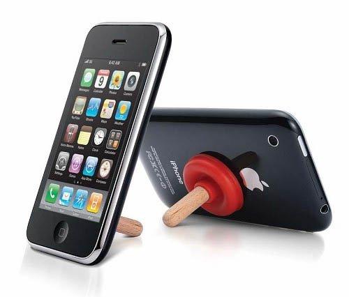 又敗家@日系可愛馬桶抽吸盤手機支架手機架手機座 適蘋果Apple iPod Touch iPhone HTC Samsung 2G 3GS 4G 5G HD Deisre Galaxy S