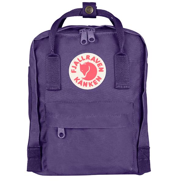 ├登山樂┤瑞典Fjallraven Kanken Mini 復古後背包 方型書包 深紫#F23561-580